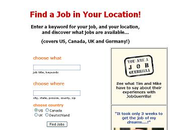 A New Job Search Service is Launched
