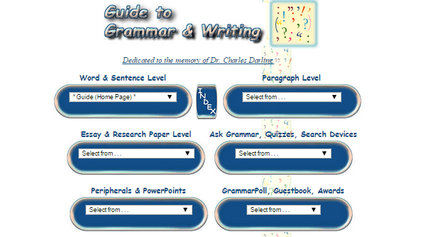 grammar and writing